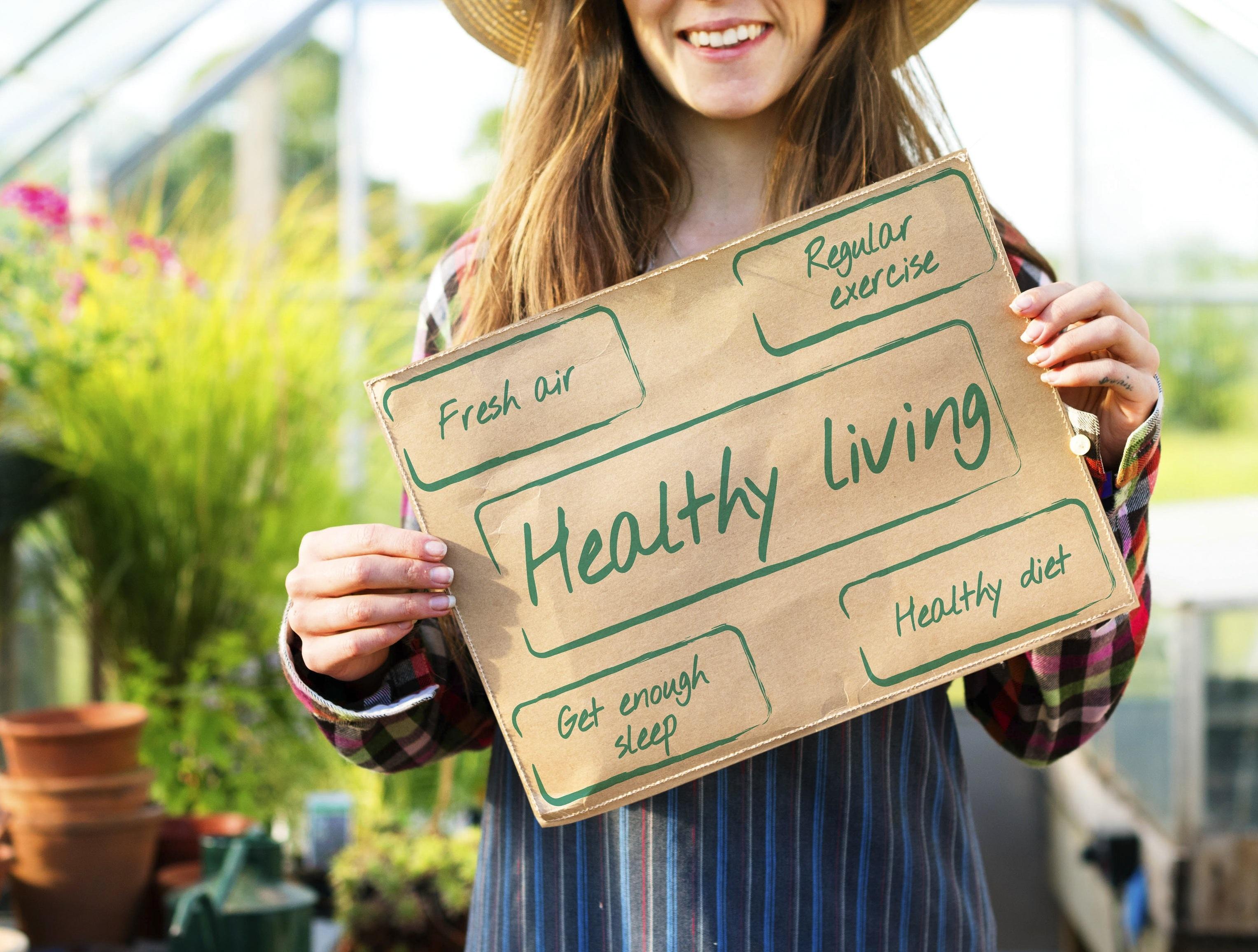 Notre philosophie.  Healthy lifestyle : une bonne hygiène alimentaire, une activité physique régulière, un sommeil suffisant, des moments de respiration